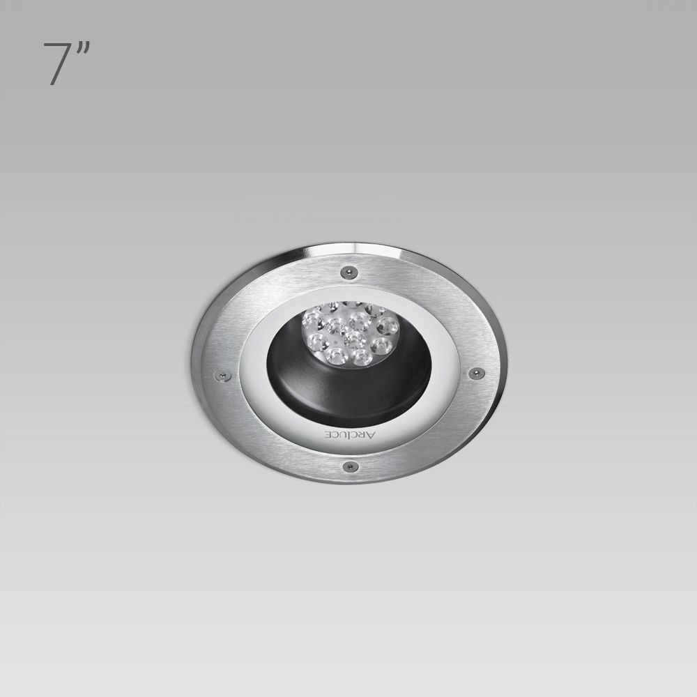 Recessed ceiling luminaires  RAY180 short